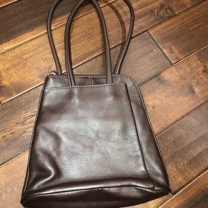 Clark's leather convertible shoulder bag/ backpack